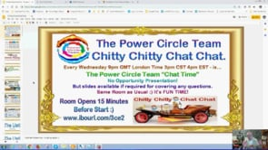 Power Circle Team Chitty Chitty Chat Chat with Autoresponder Training Webinar Replay 30th Jan 2019