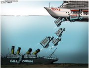 Ca. is sunk, alright!