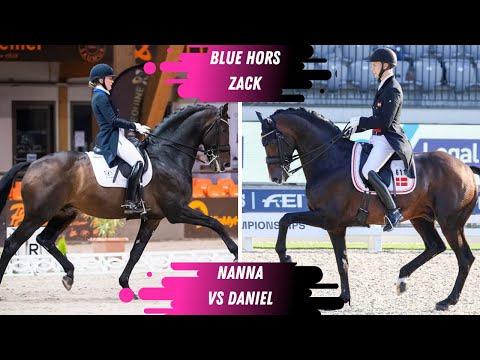 Who Did It Better? Daniel Bachmann Anderson VS Nanna Skodborg Merrald On Blue Hors Zack