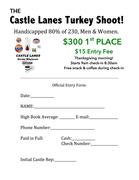 TURKEY SHOOT Thanksgiving 9am