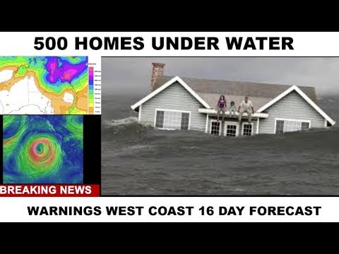 500 HOMES UNDER WATER WARNINGS 16 DAY FORECAST !!! #WEATHER WARFARE LIVE!! #ANALYSIS