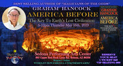 """Graham Hancock """"America Before: The Key To Earth's Lost Civilization"""" May 16th, 2019"""