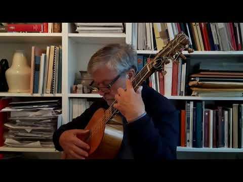 Francesco Corbetta, Passacaille in G minor (1674) - Lex Eisenhardt, baroque guitar