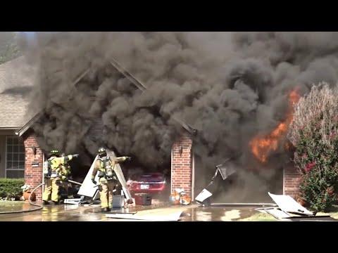 PRE-ARRIVAL Broken Arrow Fire Department House Fire 9-27-21
