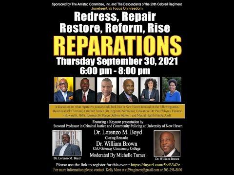 Reparations: A Community Conversation