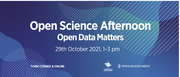 Open Science Afternoon 2021 - Open Data Matters!