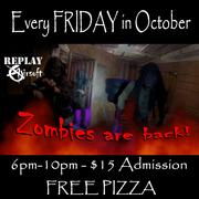 Zombie Games every Friday in October
