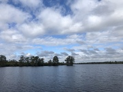 Mostly Cloudy With Storm Just Off Shore….10/8/2021