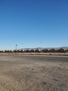 Outside Yermo, Ca., 10-10-21.  On flatcars, not moving....?