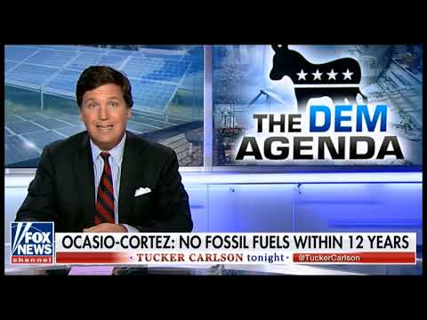 Tucker Carlson -- Solar power is not a replacement for fossil fuel