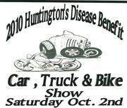 Huntington's Disease Benefit Car, Truck and Bike Show -Canton, Ga