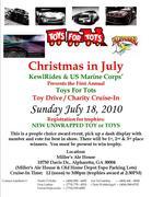 KewlRides Toys for Tots Christmas In July - Alpharetta GA