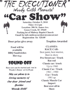 The Executioner Woody Cribb Memorial Car Show -Goose Creek, SC