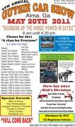 5th Annual Guysie Car Show -Alma, GA