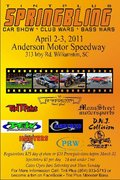 SPRING BLING ANDERSON MOTOR SPEEDWAY -Williamston, SC