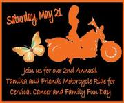 2nd Annual Tamika and Friends Motorcycle Ride for Cervical Cancer & Family Fun Day -Roswell, GA