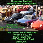 Horsepower Breakfast 3rd Sunday of Every Month -Duluth Ga.September