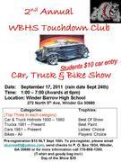 2nd Annual Winder Barrow Touchdown Club Car and Bike Show -Winder, GA