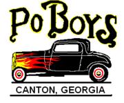 Po Boy's Car Club cruise-in Canton GA.