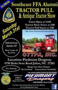 Southeast FFA Alumni Tractor Pull - Greensboro, NC