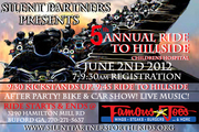 5th Annual Ride to Hillside and Bike and Car show -Buford, GA