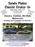 Sandy Plains Cool Ride Classic Cruise-In & Model Train Show -Marietta, GA