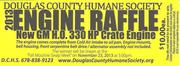 Douglas County Humane Society Engine Raffle - Douglasville, GA