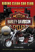 3rd Annual Riding Clean Car Club Car,Truck & Bike Show -Morrow, GA