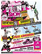 Team FMX Stunt Shows at Curves & Chrome