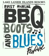 BBQ, BOOTS & BLUES FEST AT LAKE LANIER ISLANDS RESORT - CRUISE IN CAR SHOW -Buford, GA