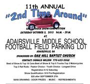 2nd Time Around Car - Truck - Motorcycle Show -Adairsville, GA