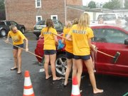 Canes Cheerleader Car Show -Byron, GA
