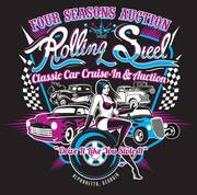 Rolling Steel Classic Car Auction Preview Party -Alpharetta, GA