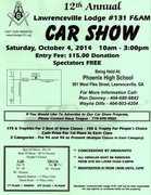 Lawrencevill Masonic Lodge--12th Annual Car Show-Lawrenceville, GA