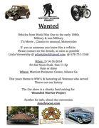 anachrocon Car Show charity event. Atlanta Ga.
