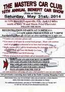 The Master's Car Club 10th Annual Car Show--Loganville, GA