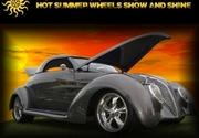 Annual Hot Summer Wheels Show and Shine -Villa Rica, GA