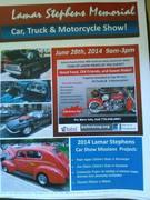 Lamar Stephens Memorial Car, Truck & Motorcycle Show! -Buford, GA