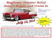 Mayflower Disaster Relief Benefit Supper & Cruise In