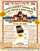 CANCELLED - Landlubbers POKER RUN and PIRATE's DAY CAR & BIKE SHOW - CANCELLED