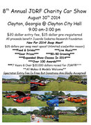 JDRF Charity Car Show & Swap Meet -Clayton, GA
