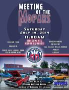 Meeting of the Mopars at the Wellborn Musclecar Museum in Alexander City, AL July 19th