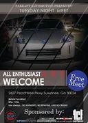 Tuesday Night Meet -Suwanee, GA