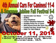 4th Annual Cars for Canines and Fall Festival, Suwanee, GA