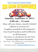 West Charlotte High School Car Show Extravaganza -Charlotte, NC