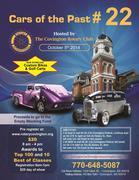 22nd Annual Cars of the Past Covington Car Show -Covington,  GA