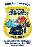 """Cops 'n Cars for Kids"" Law Enforcement Car Show -Oviedo, FL"
