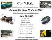 C.A.N.D.O. Scholarship Car & Bike Show / Cruise-in -Marietta. GA