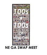 DATE CHANGED - NE Georgia Swap Meet -Commerce, GA - DATE CHANGED