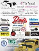 Car Shows for Charity 7th Annual Car Show for Breast Cancer -Tarpon Springs, FL